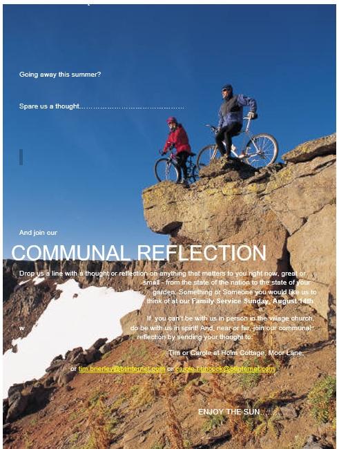 Communal Reflection