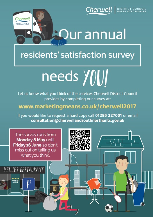 Annual resident's satisfaction survey, May 2017