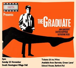 Poster for film: The Graduate
