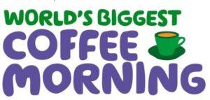 Macmillan Coffee morning 2021 image